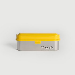 Kodak(コダック)フィルムケース135イエロー/35mmフィルム・小物入れ・メガネケース