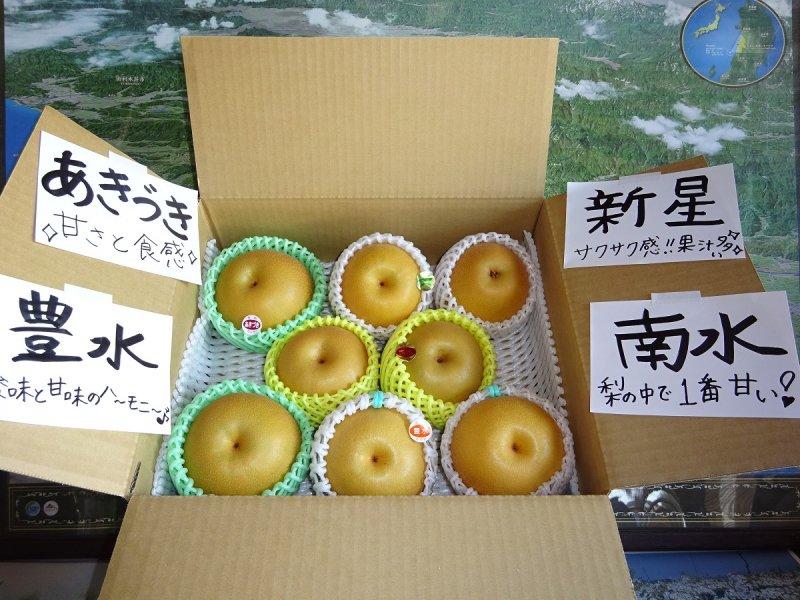 和梨4種類詰め合わせ4.2kg