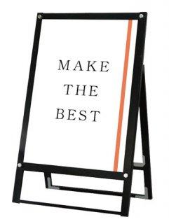 ブラックポスター用スタンド看板 A1片面ブラック