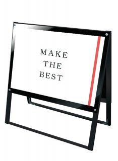 ブラックポスター用スタンド看板 A1横両面ブラック