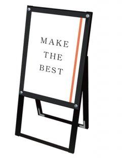 ブラックポスター用スタンド看板 A2片面ブラック
