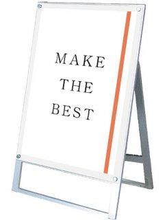 ポスター用スタンド看板マグネジ A1片面ホワイト