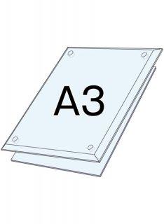 アクリルクリア(透明) A3セット
