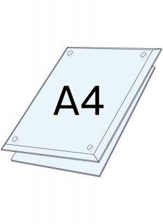 アクリルクリア(透明) A4セット