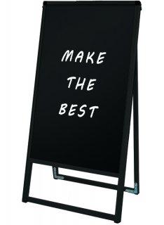 ブラックバリウススタンド看板 ブラックボード 450×900片面