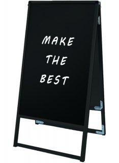 ブラックバリウススタンド看板 ブラックボード 450×900両面