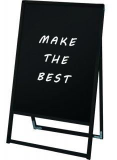 ブラックバリウススタンド看板 ブラックボード 600×900片面