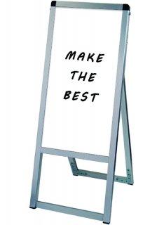 バリウススタンド看板ホワイトボード 300×600片面