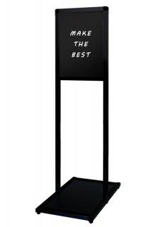 ブラックバリウスメッセージスタンド ブラックボード A4縦