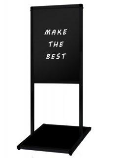 ブラックバリウスメッセージスタンド ブラックボード B2縦