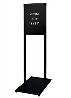 ブラックバリウスメッセージスタンド ブラックボード B4縦