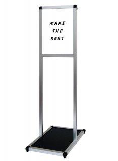 バリウスメッセージスタンド ホワイトボード A4縦