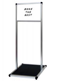 バリウスメッセージスタンド ホワイトボード A4横