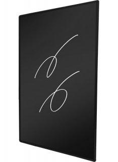 枠付ブラックボード 600×900mm