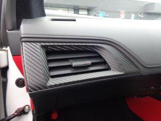 S660 エアコンダクトベゼル2点 シート