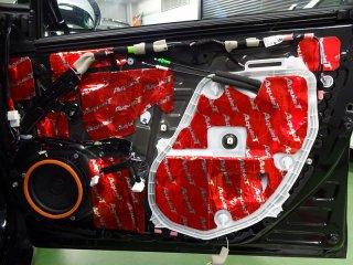 プリウス50専用 フロントドアデッドニングキットVer2