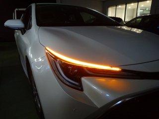 カローラスポーツE210系Bi-Beam LEDヘッドランプ装着車専用 シーケンシャルウインカーLED フロント