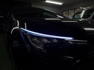 カローラツーリングE210系3灯式LEDヘッドランプ装着車専用 シーケンシャルウインカーLED フロント