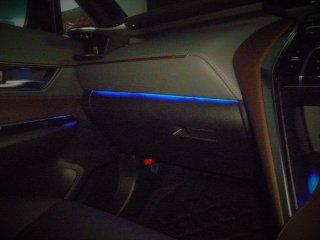 ハリアー80系 間接照明 助手席