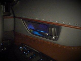 ハリアー80系 間接照明 ドアノブLED運転席・助手席セット