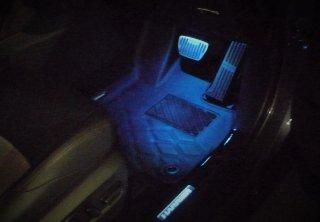 ハリアー80系 間接照明 フットランプ左右セット
