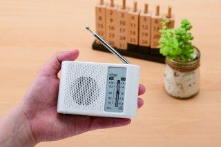 コンパクトAM/ワイドFMラジオ