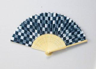 京都くろちく・市松扇子