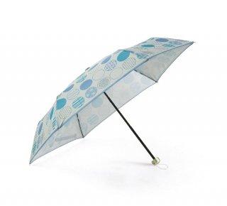 京都くろちく・晴雨兼用折傘(丸並べ)