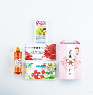 清活応援プレミアムギフトセット(キッチンケア4点)A