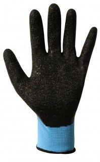 滑り止め付き天然ゴム手袋