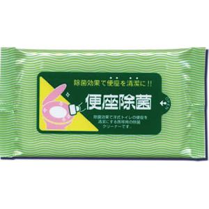 便座除菌クリーナー10枚入:除菌効果で便座を清潔にする携帯用除菌クリーナー