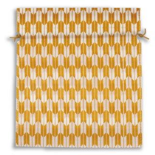 不織布和風柄巾着矢絣柄