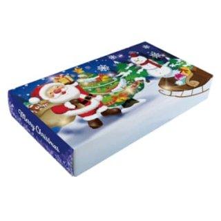 サンタクロース 40WクリスマスBOXティッシュ
