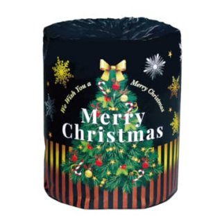 クリスマスロール トイレットペーパー