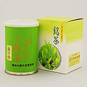 高級宇治抹茶「庭の白(にわのしろ)」(100g缶入り)