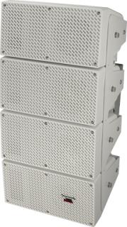 パナソニック   プロオーディオシステムRAMSA  全天候型スピーカー  2ウェイ・4連アレイタイプ  WS-LB311