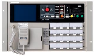 JVCケンウッド  非常・業務用放送設備     非常業務遠隔操作器     EM-C156