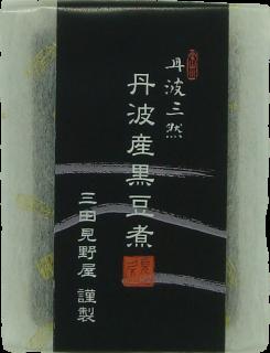 丹波産黒豆煮 (トレー)の商品画像