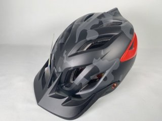 Troy Lee Design A3 CAMO GRAY/RED