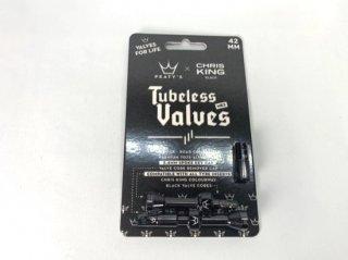 PEATY'S x Chris King Mk2 Tubeless Valves 42mm