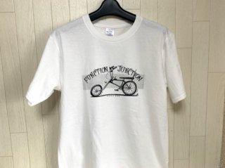 FJ BICYCLE NERD Tシャツ キッズサイズ ホワイト