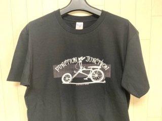 FJ BICYCLE NERD Tシャツ ブラック