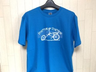 FJ BICYCLE NERD Tシャツ ブルー