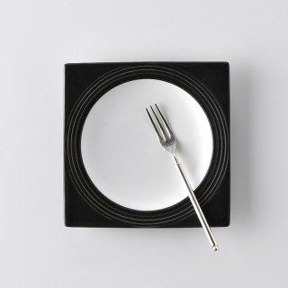 W&B 角丸皿13×13cm