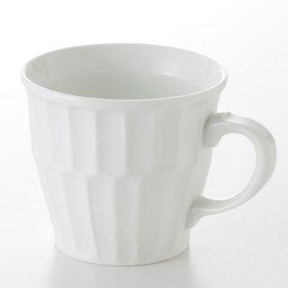 二段竹林彫マグカップ