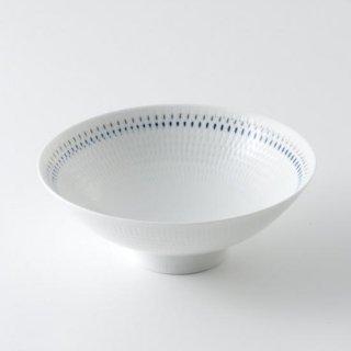 色染絆 平茶碗中(青)
