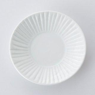 草林彫 4寸皿