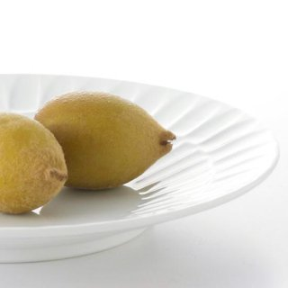 二段竹林 8寸丸皿