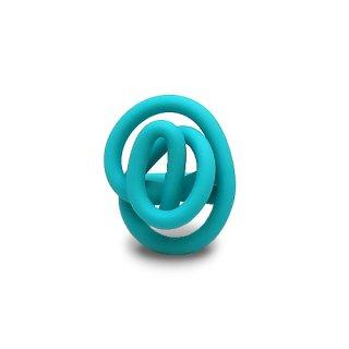 "ZIG RING ""Matte / Turquoise"""