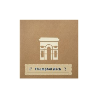 "POP UP CARD COMPLEX ""Triumphal Arch"""